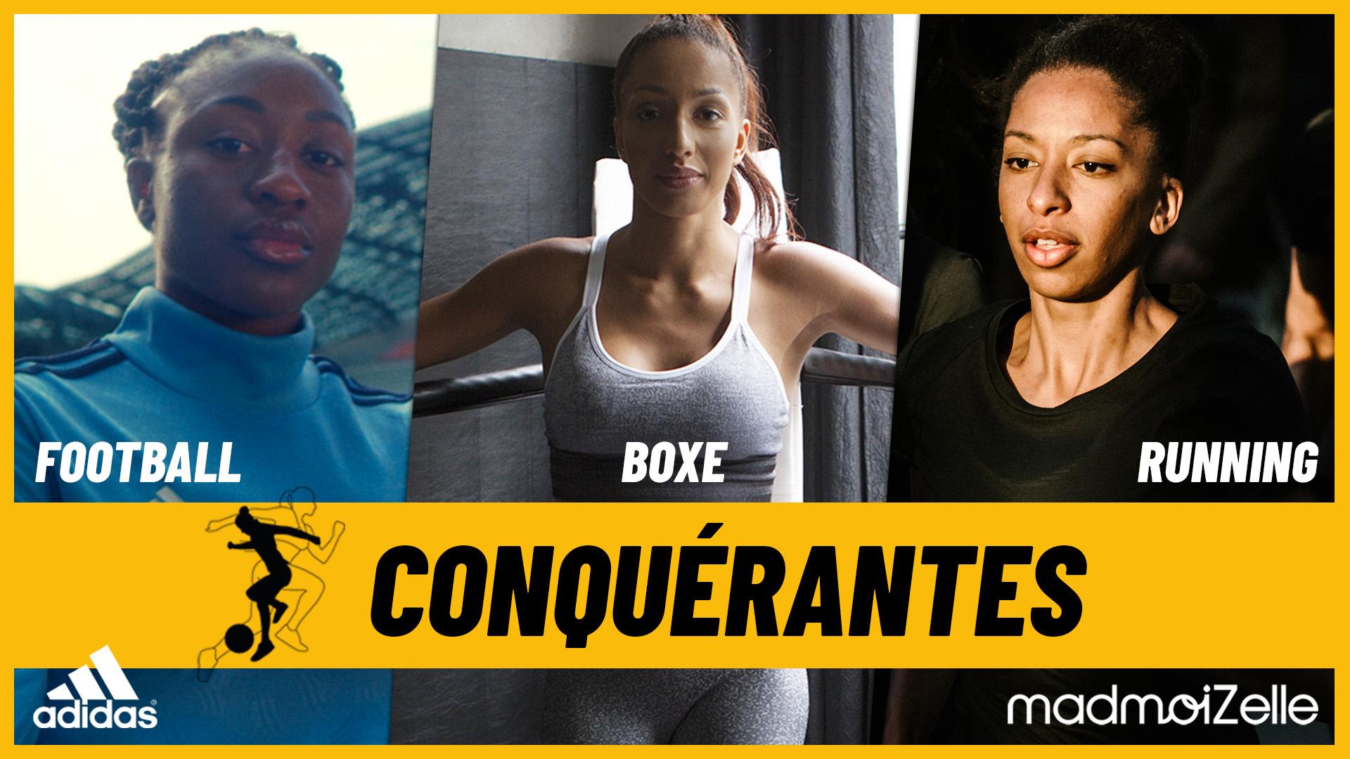 MadmoiZelle pour Adidas – Le podcast « Conquérantes