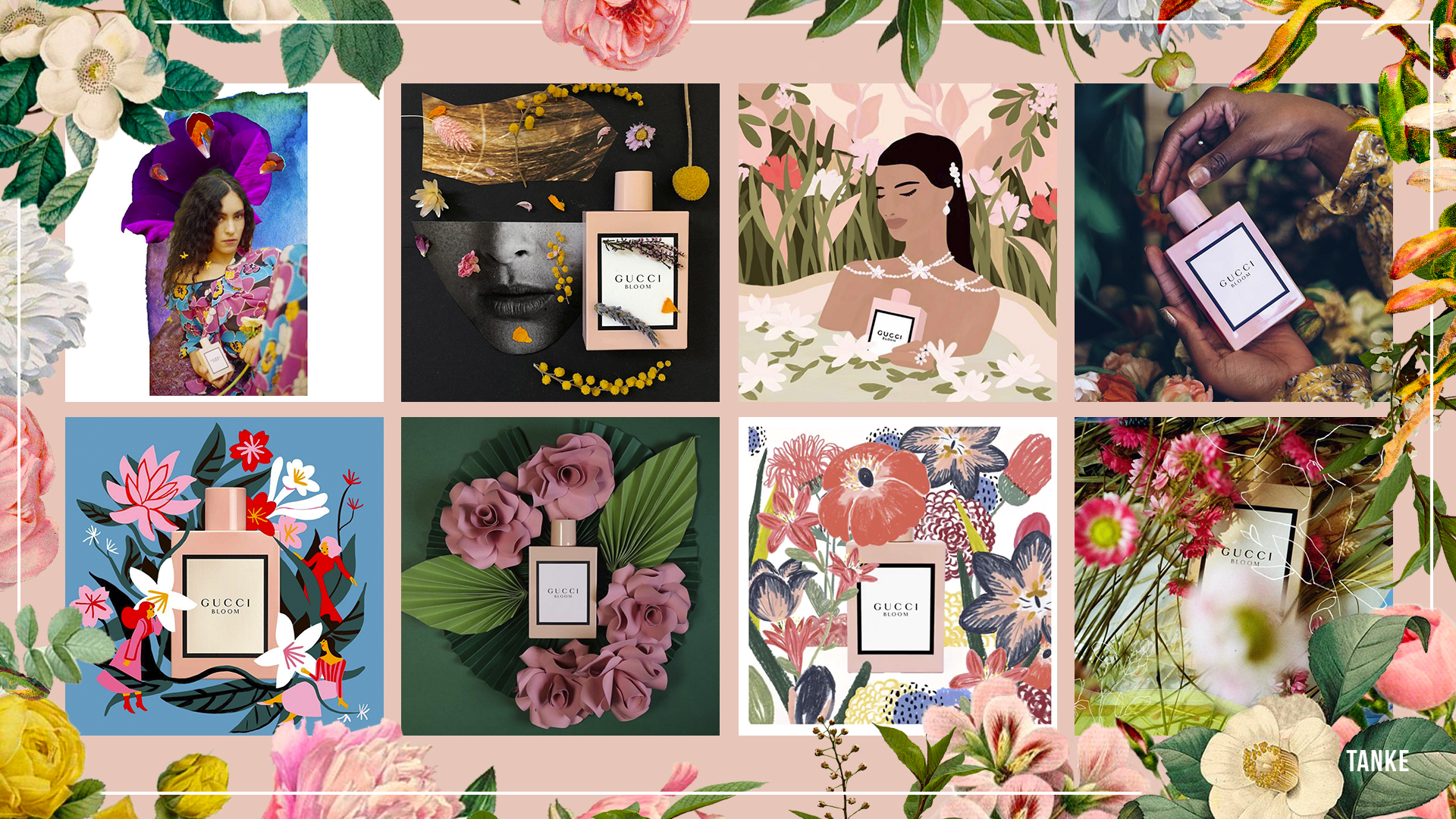 Tanke Pour Gucci Parfums Coty France Gucci Bloom Campagne