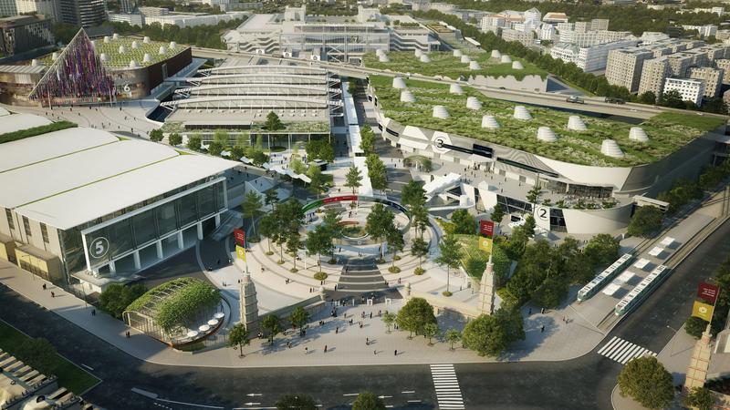 Paris expo par pour accueillir les plus gros congr s - Parc exposition porte de versailles ...
