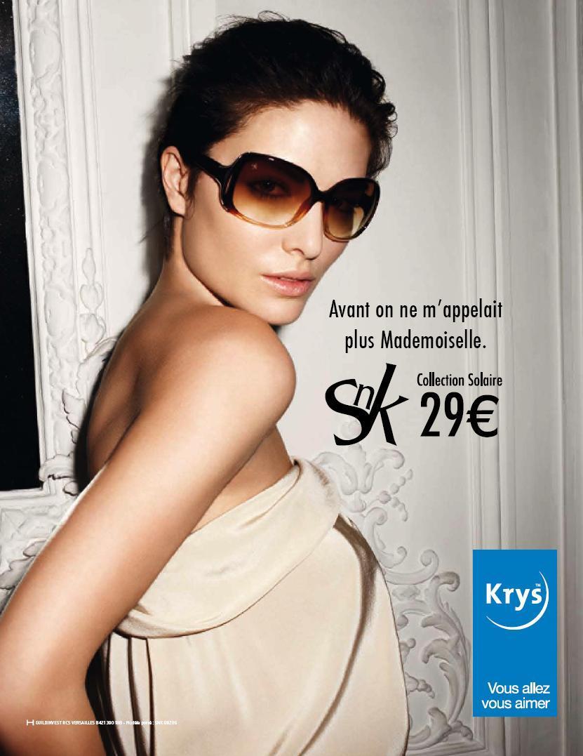 ab2ace6e3ecefc Krys - Collection SnK de lunettes de soleil - avril 2009 - Stratégies