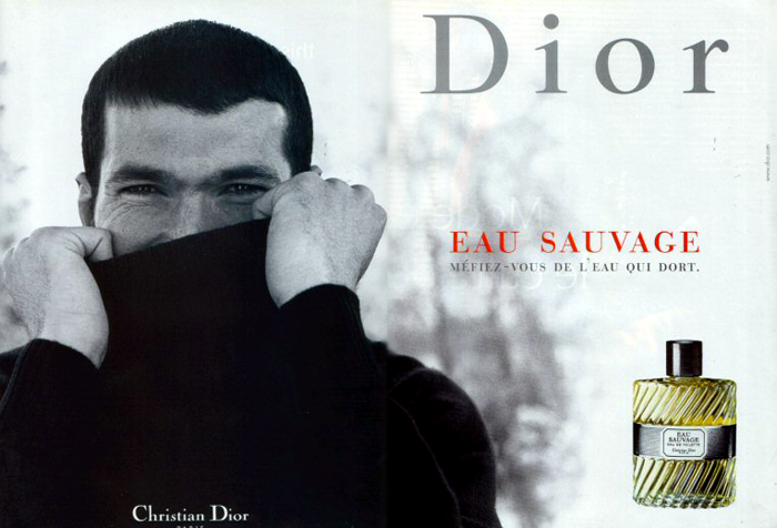 Les Campagnes Mythiques Eau Sauvage De Dior Avec Zidane Stratégies
