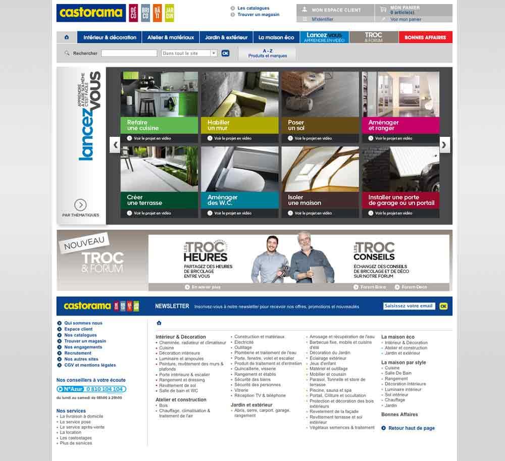 Magasin equipement maison dcoration et quipement de la for Meuble tv centrakor