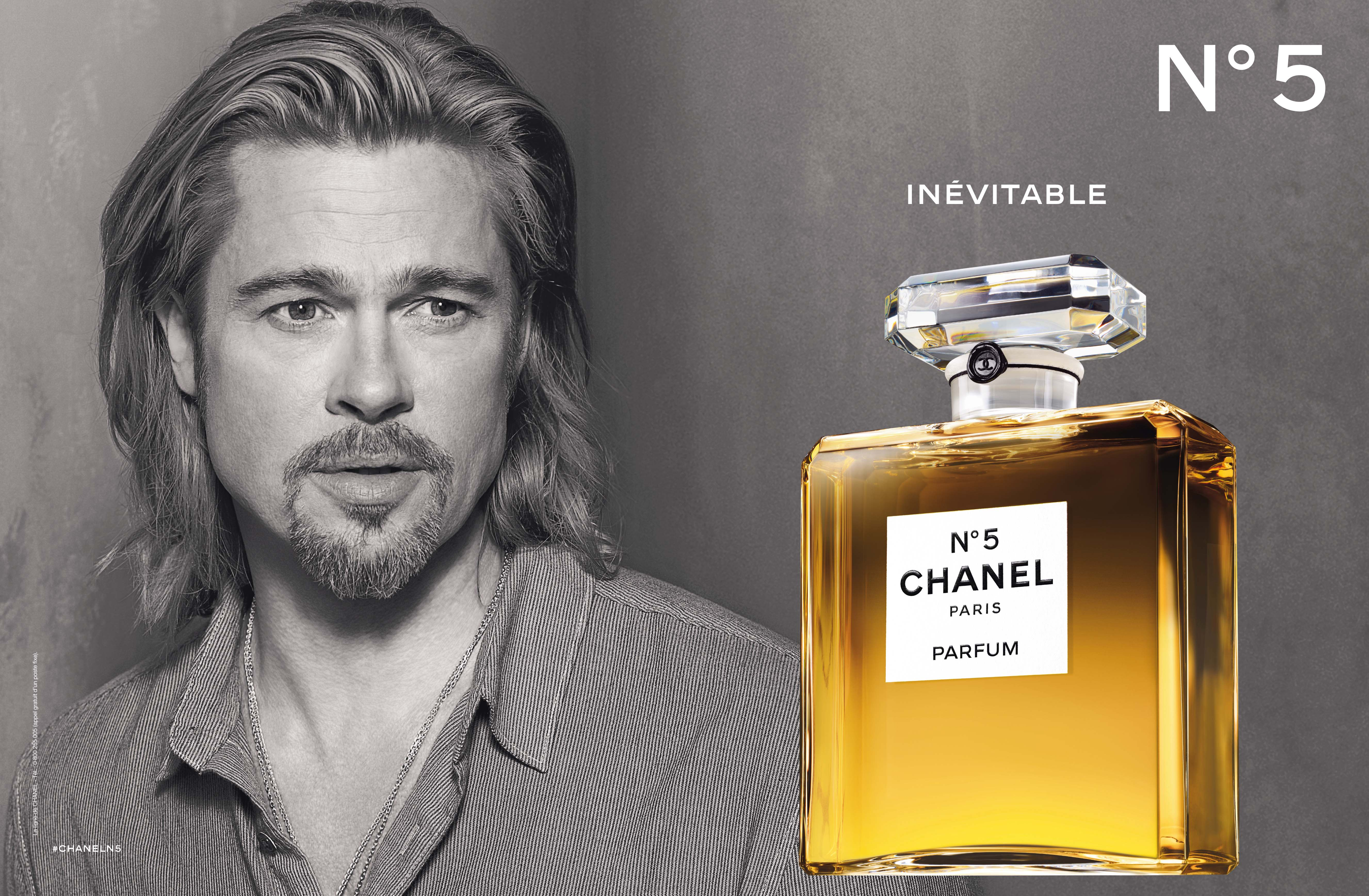 Chanel Parfum Chanel N5 There You Are Inévitable Avec Brad