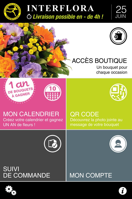 Interflora Livraison De Fleurs Application M Commerce Interflora