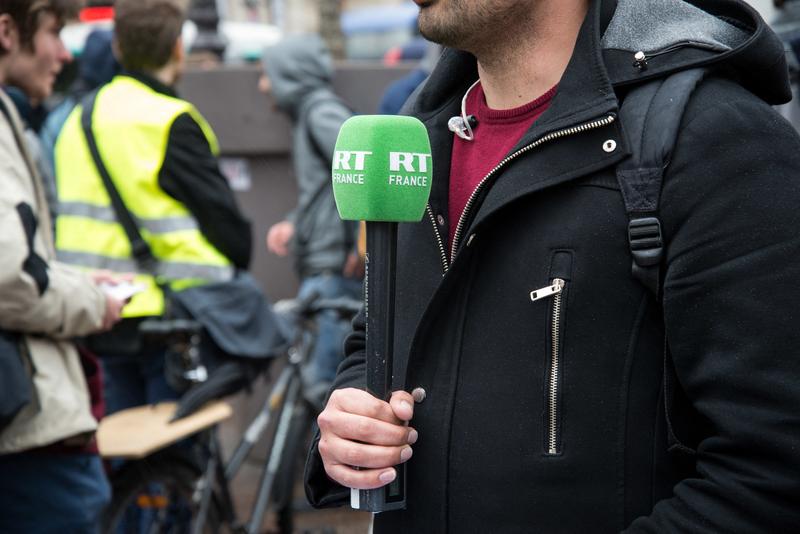 La chaîne RT France porte plainte pour « menaces de mort »