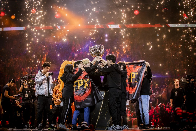 La Chine remporte la finale de League of Legends