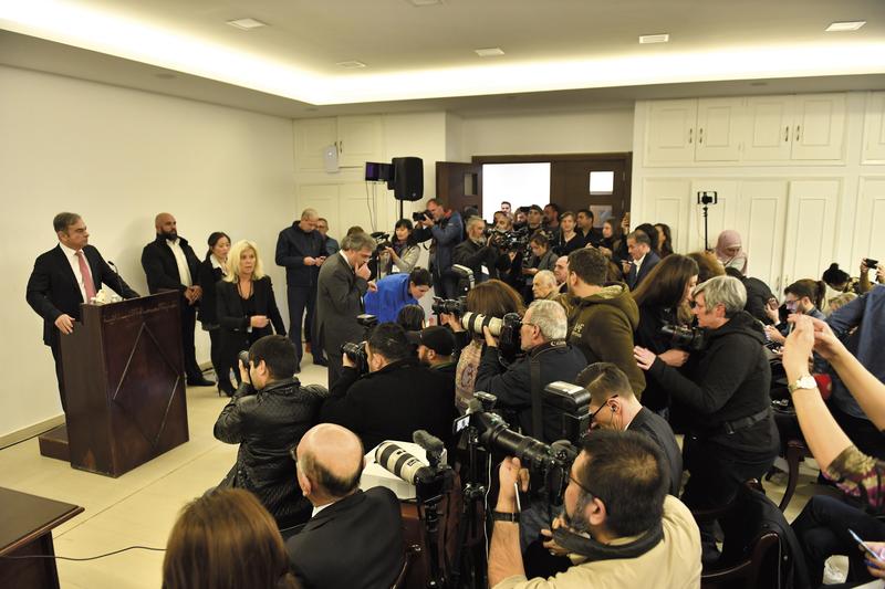 Affaire Carlos Ghosn : retour sur la conf de presse de l'année - Stratégies