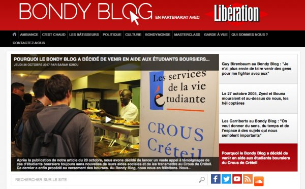 Quand Le Bondy Blog Fait Trembler Le Crous Strategies